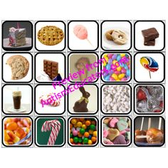 """""""Sweet Snacks"""" Picture Cards for Autism from Inspired by Evan Autism Resources."""