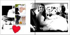 Fotobuch zur Hochzeit  Noch mehr Fotobuch Beispiele findet Ihr auf meiner Seite http://www.fotobuchtipps.de