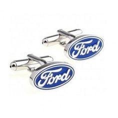 Blue #Ford Logo #Cufflinks #cufflinkspalace