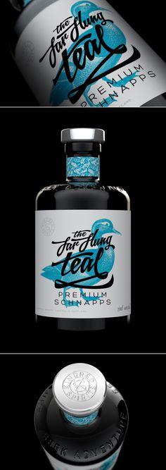Concept: The Far Flung Teal — The Dieline | Packaging & Branding Design & Innovation News
