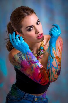 lali 2013 Mariano Martinez, Most Beautiful, Beautiful Women, Special Pictures, Shows, Body Painting, Pixie, Celebs, Singer