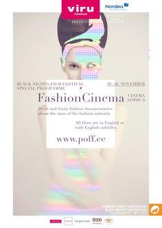 Fashion Cinema logo, illustration, graphic design by Helene Vetik.