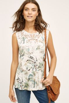 Lia Tank - anthropologie.com