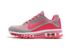 huge discount e1735 ddeaa Beautiful Nike Air Max 2017. 5 KPU Light Grey Pink Women s Running Shoes  Sneakers