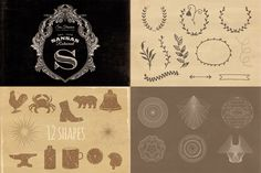 Free bundle from our Only Best Sellers - Mega Bundle! vol.2! Enjoy and check also amazing full version ;) With this freebe you get: Victorian vintage frame template ( PSD, AI and EPS ) 6 geometric ...