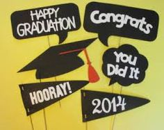graduation photo booth template - Google Search