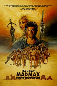 Mad Max Beyond Thunderdome - Review: Mad Max Beyond Thunderdome (1985) is an Australian action, adventure and thriller… #Movies #Movie
