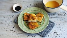 BBC Food - Recipes - Halloumi saganaki