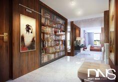 Hol / korytarz - styl nowoczesny