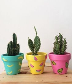 25 DIY Cute Plant Pot Ideas - Page 12 of 25 - VimDecor plant pot ideas, creative flower pot, inddor plant pot, diy and crafts, plant holders Painted Plant Pots, Painted Flower Pots, Decorated Flower Pots, Painted Pebbles, Flower Pot Design, Fleurs Diy, Flower Pot Crafts, Flower Pot Art, Plant Crafts