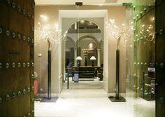 Entrance Hotel Petit Palace Marqués Santa Ana