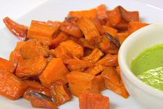 Honey Roasted Sweet Potatoes from FoodNetwork.com
