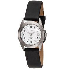 JOBO Damen Armbanduhr Quarz Analog Titan Lederband schwarz Damenuhr mit