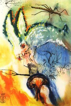 Salvador Dali's Alice