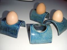 Poterie de Kerquilven Plus love this idea for egg cups