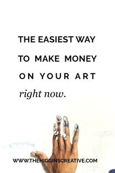 Want to know the easiest way you can begin to build income with your art? The secret isn't super complicated. Creative Business, Business Tips, Online Business, Way To Make Money, How To Make, Feeling Frustrated, Thing 1, Artists For Kids, Online Marketing