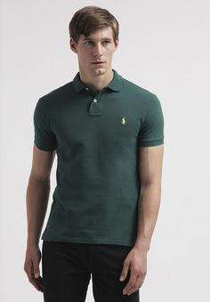 Polo Ralph Lauren - SLIM FIT - Piké - hunter green