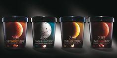"""A new ice cream brand """"La Lune"""", for the American market."""
