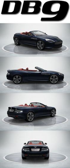 Aston Martin DB9. Discover more at http://www.astonmartin.com/en/cars/the-new-db9 #AstonMartin