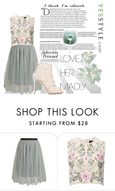 """#24. Vintage Pastels."" by taylaa89 ❤ liked on Polyvore featuring Relaxfeel, Needle & Thread, Balmain, Dolce&Gabbana and vintage"