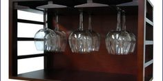 Wooden Wine Glass Racks