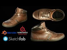 Texturing Leather shoes in Substance Painter 2 - YouTube