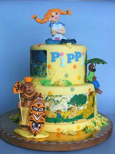 Wonderful Pippi Cake!! Bubolinkata: Пипи Дългото чорапче