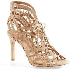 Joie 'Leah' Lace-Up Sandal (Women) available at Dream Shoes, Crazy Shoes, Cute Shoes, Me Too Shoes, Lace Up Sandals, Women Sandals, Strappy Sandals, Beautiful High Heels, Pumps