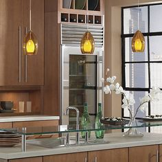 Fire Pendant by @techlighting at Lumens.com