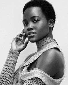 Revista Instyle, Pretty People, Beautiful People, Beautiful Eyes, Beautiful Pictures, Natural Hair Styles, Short Hair Styles, Pelo Afro, Instyle Magazine