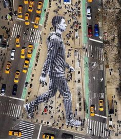 "Street Art News Magazine (@streetartnews) on Instagram: ""The work of JR in New York City"""
