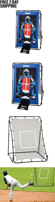 Batting Cages and Netting 50809: Baseball Softball Pitching Net Cage Training Practice Batting Outdoor Sports New BUY IT NOW ONLY: $64.23
