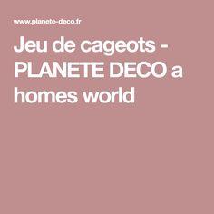 Jeu de cageots - PLANETE DECO a homes world