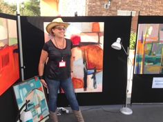 Art, Rhythms & Wine event in Rancho Santa Fe, California   won first prize award   charity: The Country Friends   www.daniellenelisse.com  2015 October