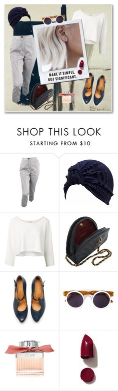 """""""Unbenannt #537"""" by fufuun ❤ liked on Polyvore featuring Vivienne Westwood, Witchery, TRACEY NEULS, Smoke x Mirrors, Chloé and NARS Cosmetics"""
