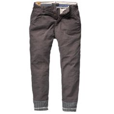 Scotch & Soda Cotton Twill Chino Pant