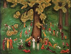 Sunday in summer, Nils von Dardel