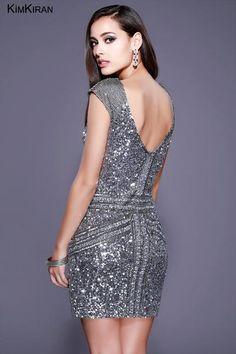 Shail K. Dresses  21197 Fully Sequin Body Hugging Cocktail Dress #dressoftheday #prom #ootd #shailkusa #fashion