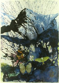 Salvador Dali, Alpes, Lithograph on Paper, Limited Edition