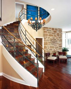 If youre ready for your grand entrance this 58m home can make it this breathtaking spiral staircasethe first thing greeting guests when entering the home m4hsunfo