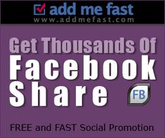 Get Thousands of FB likes and shares.