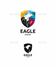 Eagle Animals Logo Design Templates Vector EPS, AI Illustrator. Download here: https://graphicriver.net/item/eagle/19011902?ref=yinkira