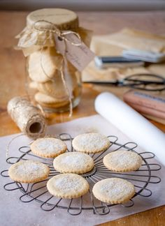 "Festive ""soetkoekies"" (photograph by Tasha Seccombe) - The taste of these old-fashioned sweet buttery biscuits takes me straight back to my childhood home in Stellenbosch, where I baked several batches of these each year before our annual Christmas holiday in Keurboomstrand. They are delicately spiced with nutmeg and cinnamon, and they're just heavenly dipped in warm tea."