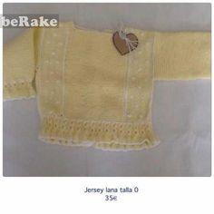 Vendo Jersey lana talla 0...