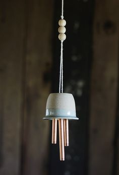 Continuing with our Best of DIYs this month, we loved this wind chime project Caitlin McGrath of The Merrythought made for Poppytalk back...