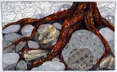 Linda Beach Art Quilts creates intricate, pieced art quilts inspired by the natural world. She lived many years in Alaska and now lives in the Colorado Rockies. She finds that her best ideas for new work occur while hiking or spending time in the outdoors.