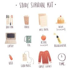 "look cute study hard is part of School study tips - coffeegeekblr "" So I did my last 3 exams today and I did really well on math was not easy at all so idk how I went but I'M IN WINTER BREAK! ❄️💙 not my pic "" Middle School Hacks, High School Hacks, Life Hacks For School, School Study Tips, Back To School Tips, Back To School Supplies, School Life, Highschool School Supplies, Highschool Survival Kit"