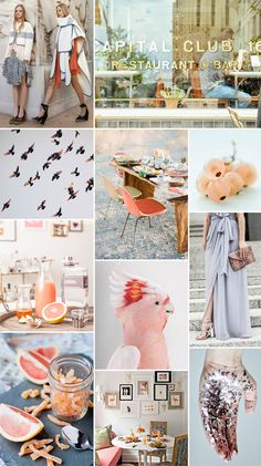 Style & Pepper Guest Post: COLOR CRUSH: GRAPEFRUIT + GRAY