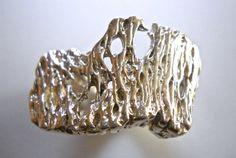 Modernist Sterling Silver Ring Brutalist by RenaissanceFair