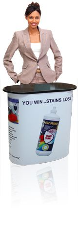 Display Master Australia - Banners and Portable Display Solutions : Promotion Tables, Promotion Counters, Promotion Desks
